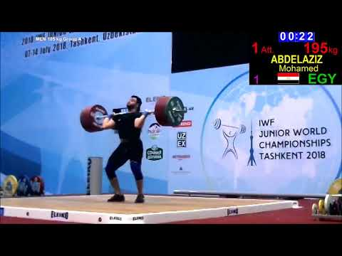 Men 105 A - 2018 Junior World Championships Weightlifting