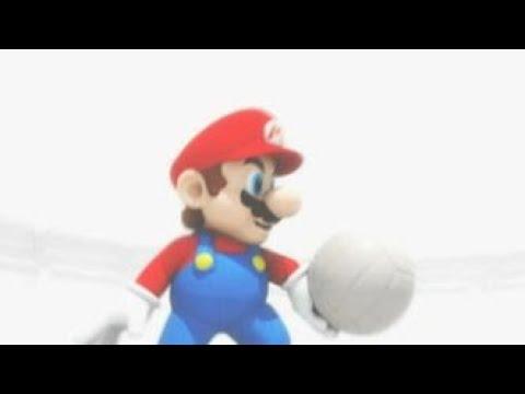 Mario Sports Mix (Wii U) - Volleyball - Alternate Path: Flower Cup