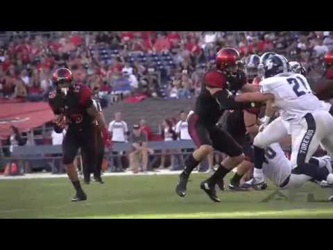 2015 San Diego State vs The University of San Diego Football Highlights