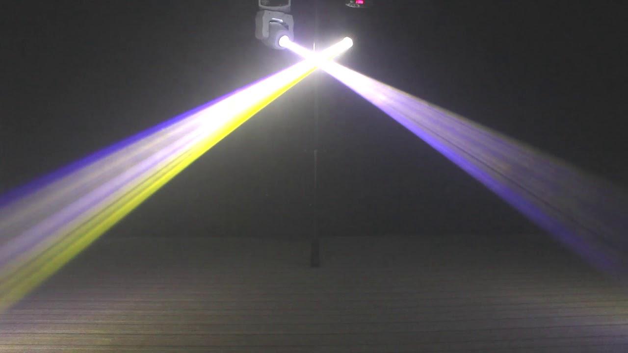 80W Moving Head Stage Gobo Light RGBW LED DMX Spot Club Disco DJ Party  Lighting