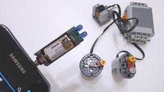 Convert Audio Output into LEGO Power Functions RC Infrared Signal Part 3: Irdroid v1.0 Module