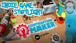 Contraption Maker - A Rube Goldberg Game - Indie Game Spotlight