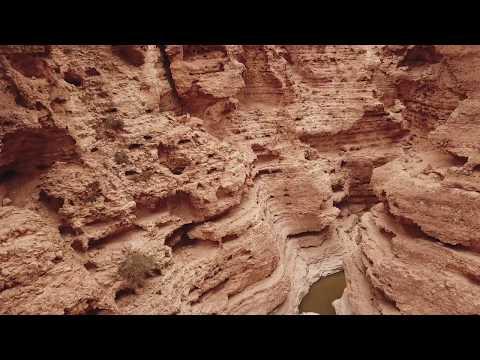 Israel: Negev Desert Nahal Hava (Gevei Hava) in one long take - DJI Mavic Pro 4K