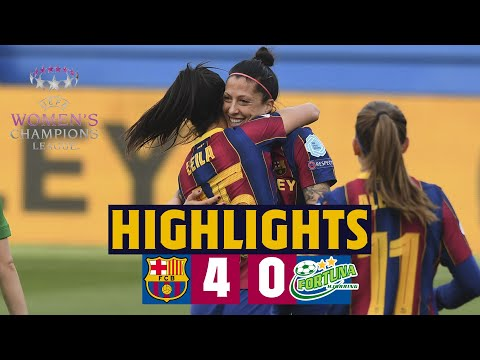 HIGHLIGHTS | Barça 4–0 Fortuna Hørring | Huge step towards quarters