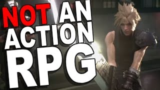 Proof the Final Fantasy VII Remake is Not an Action RPG