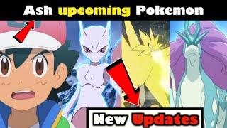 Ash and Legendary Pokemon  Mewtwo Return  who is Ash next Pokemon? Pokemon sword and shield updates
