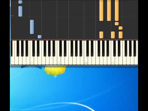 Bob Seger   Against The Wind [Piano tutorial by Synthesia]