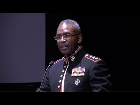 2015 - 240th Anniversary of the U.S. Marine Corps - LtGen Ronald Bailey, USMC - Full Version