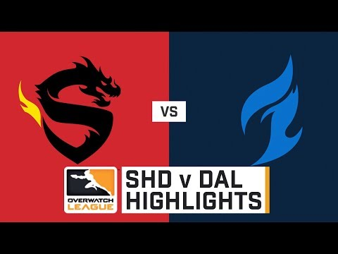 HIGHLIGHTS Shanghai Dragons vs. Dallas Fuel | Stage 1 | Week 3 | Day 3 | Overwatch League