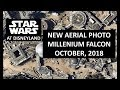 Disneyland - NEW AERIAL PHOTO Millennium Falcon Installation/Star Wars: Galaxy's Edge