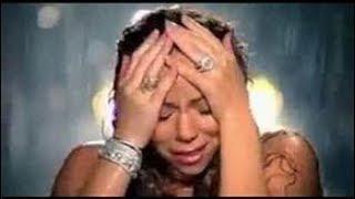 MARIAH CAREY SINGS I'LL BE THERE CRYING AT MJ's MEMORIAL
