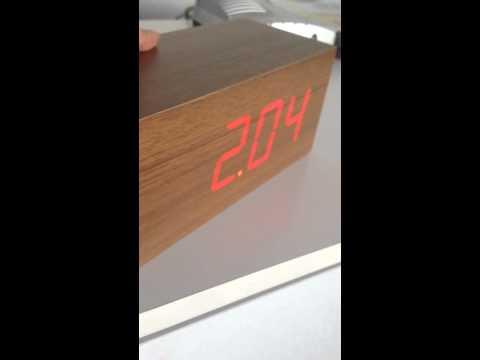 Wood Clock (WTF?!)