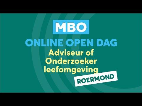 Roermond MBO Adviseur en onderzoeker Online Open Dag