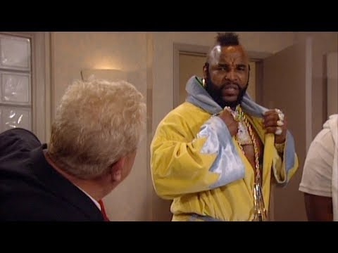 Rodney Dangerfield, Mr. T and David Tyree