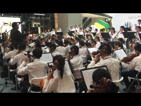 William Tell Overture Charity Performance at L'Avenue  by City Shanghai Youth Symphony Orchestra Phi