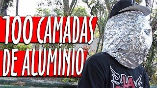 100 CAMADAS DE PAPEL ALUMÍNIO NA CABEÇA