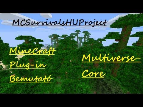 MineCraft Plug-in Bemutató - Multiverse-Core