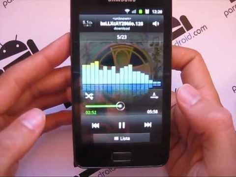 Samsung Galaxy R. Analisis Paratuandroid.com