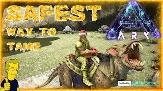 SAFEST WAY TO TAME RAVAGER WITH NO DEATHS ABERRATION ARK Survival Evolved S1 E8