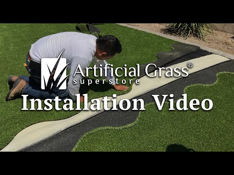 Artificial Grass Superstore Installation Video