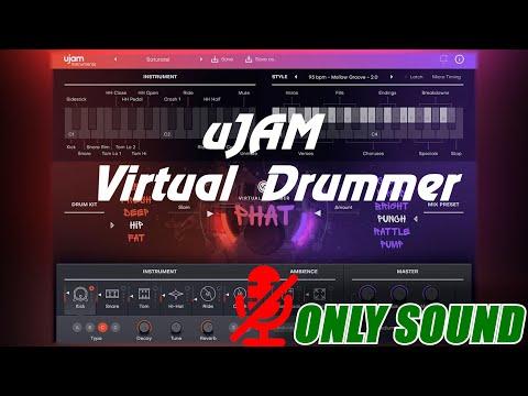 [VST] uJAM - Virtual Drummer PHAT [Demonstration]