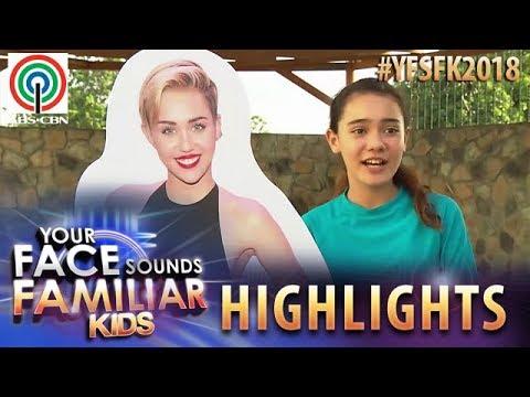 YFSF Kids 2018 Highlights: Krystal Brimner As Miley Cyrus   Week 1 Mentoring