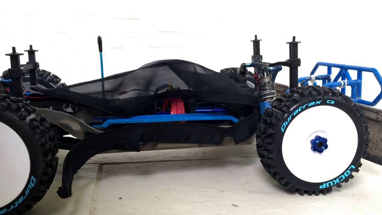How to put on HR Traxxas Slash 4x4 chassis cover