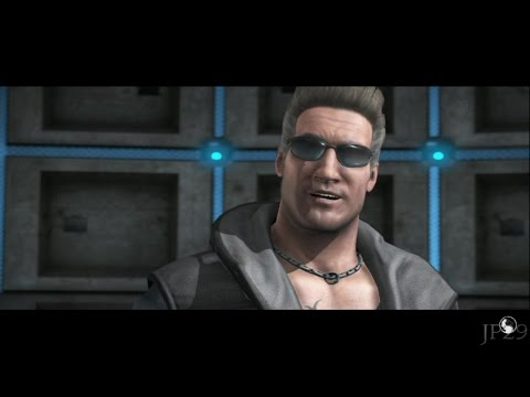 Mortal Kombat X : Johnny Cage All Intro Dialogues (MKX)