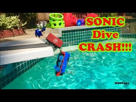 Thomas and Friends   Sonic Diving CRASH!!! Sonic the Hedgehog