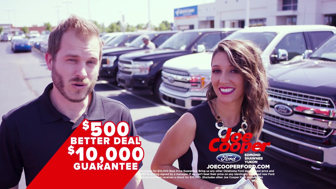 Joe Cooper Ford >> Ford F 150 Ford Escape Special Offers View This Video For Deals Joe Cooper Ford Of Edmond