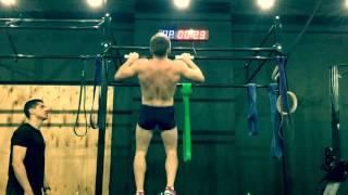 CrossFit Time Пермь Виктор подтягивается 64 раза за минуту