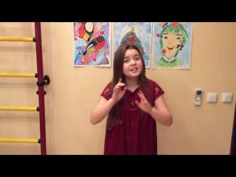 Видео визитка Илюшкина Ульяна (вокалистка и актриса)