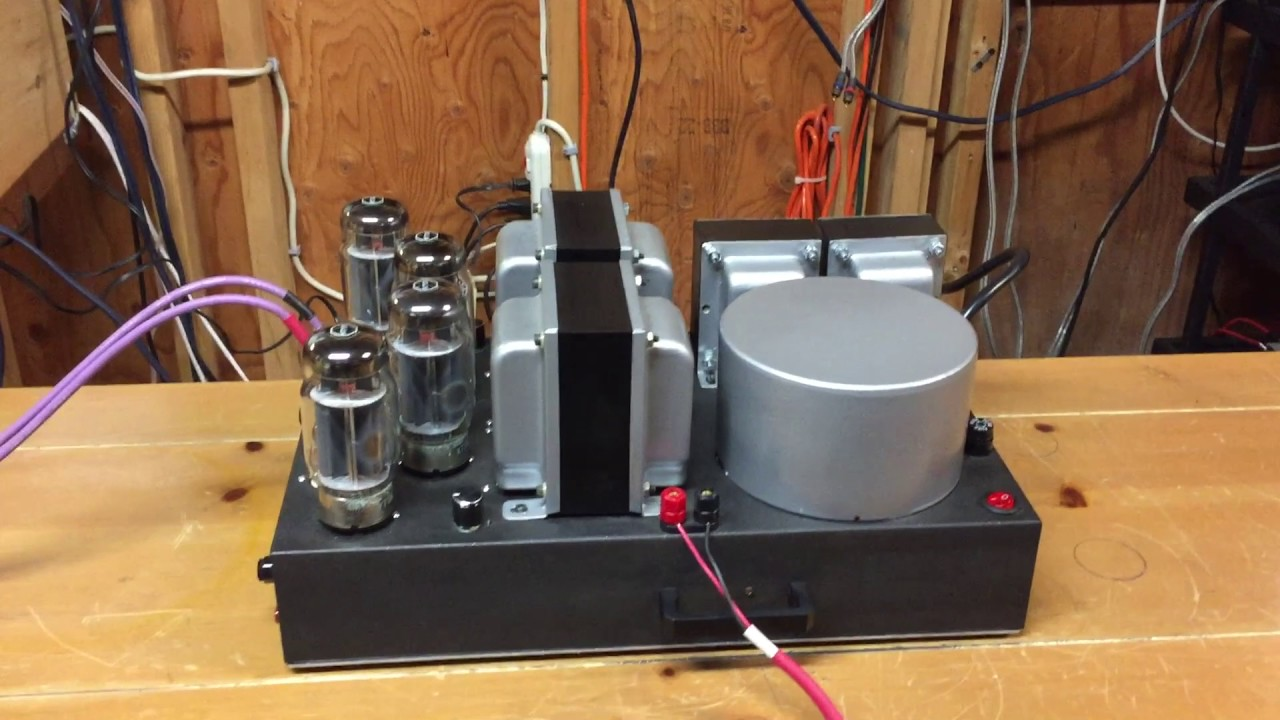 KT120/KT88 Custom Stereo Amplifier - Dynaco Mk III Circuit - Jimmyvp1