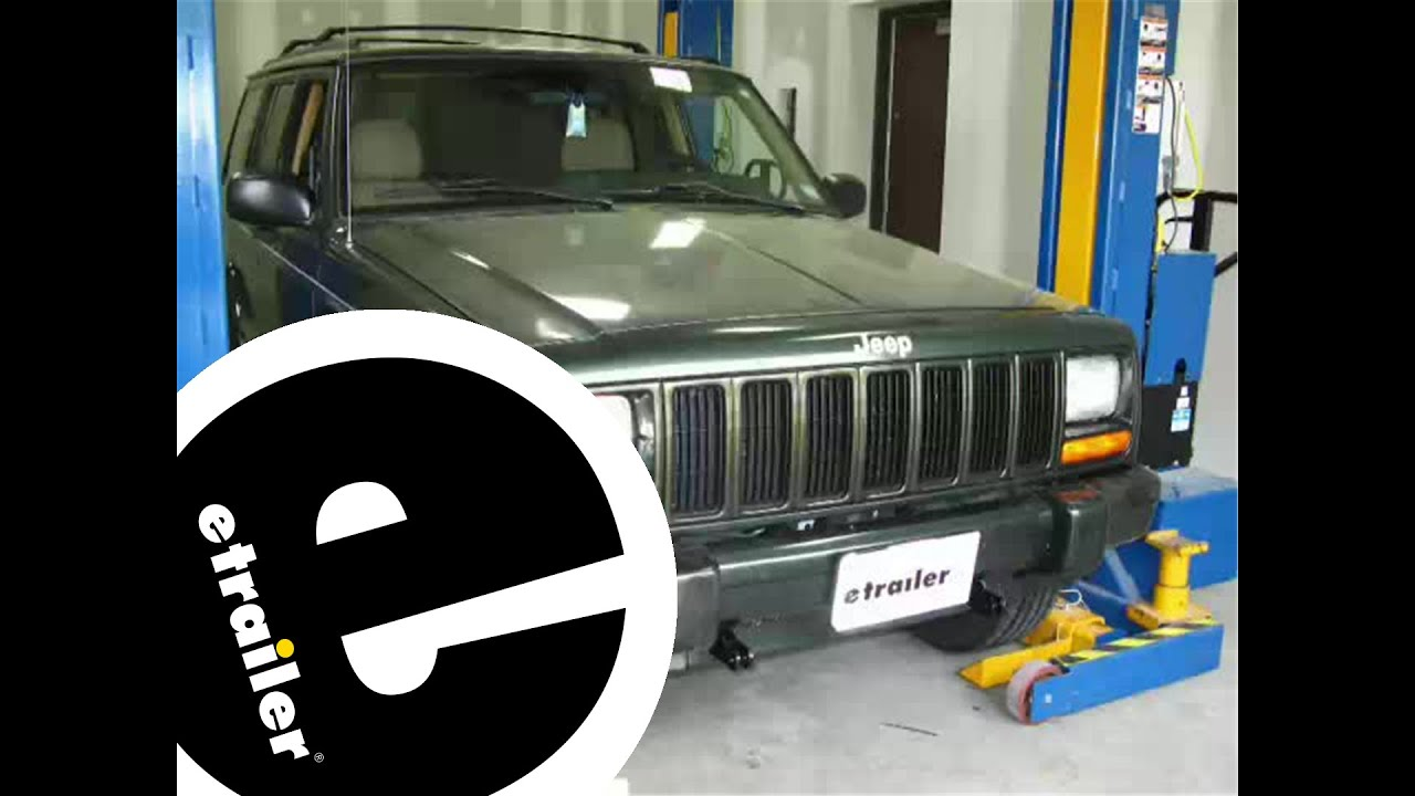 Jeep Grand Cherokee Overland >> Blue Ox Base Plate Installation - 1997 Jeep Cherokee ...