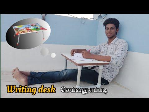 How to make writing desk tamil|How to make writing desk PVC
