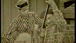 Grandpa Jones with Merle Travis then Stringbean