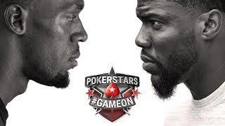 Kevin Hart vs Usain Bolt Poker Faces
