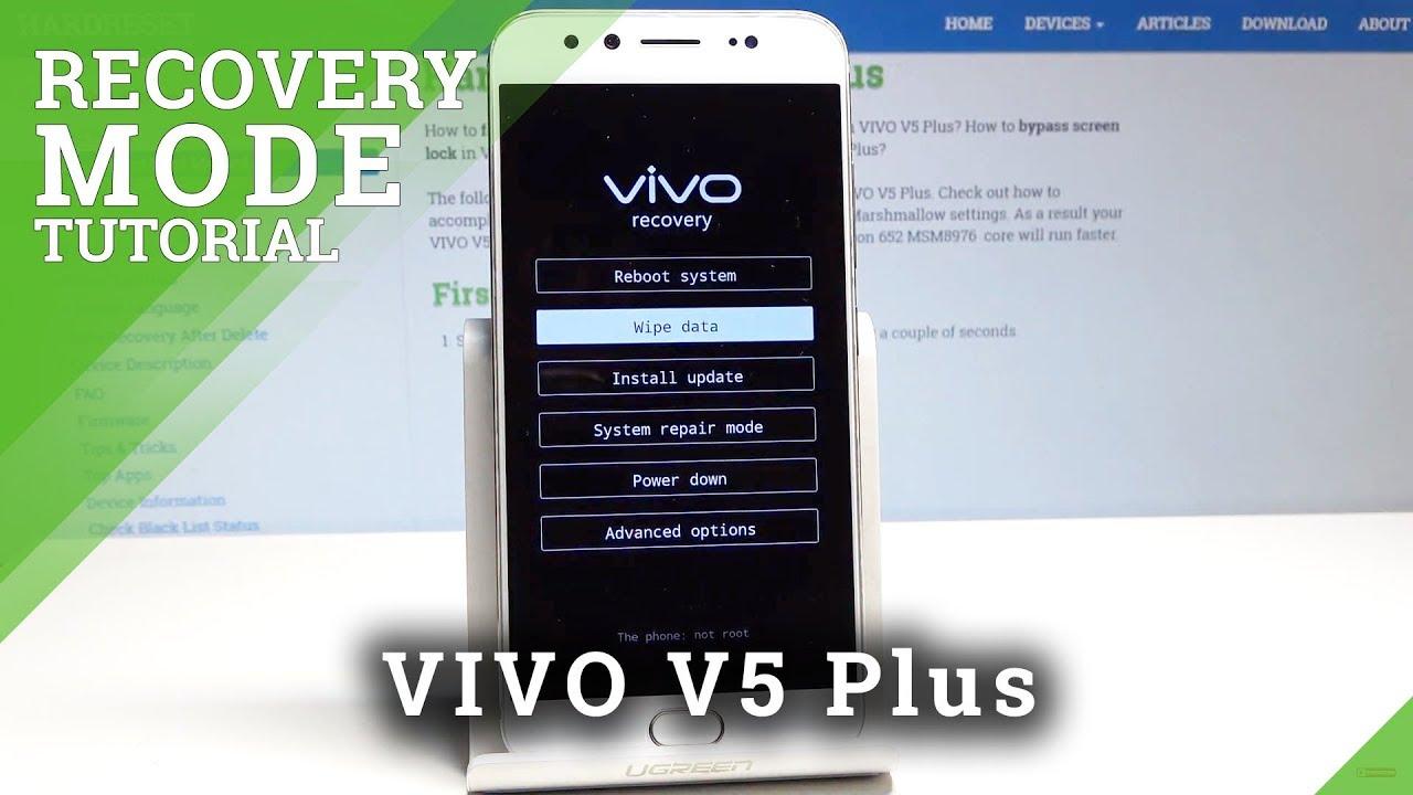 Vivo Y71 Custom Recovery