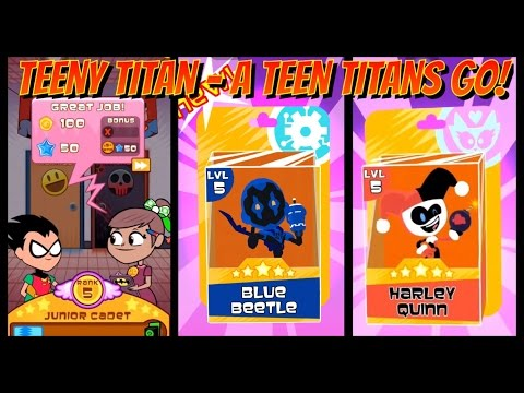 Teeny Titans - A Teen Titans Go! - Get BLUE BEETLE and HARLEY QUINN - JUSTICE LEAGUE(INTENSE)-PART24
