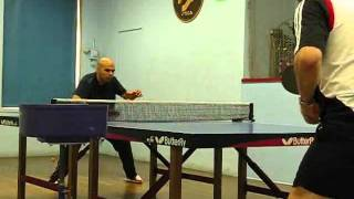 Ricardo Brito vs Peter Strucinski at NJTTC 4-23-2011