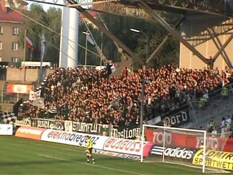 Rapid Wien Sturm Graz 15 9 2007 Ultras Youtube