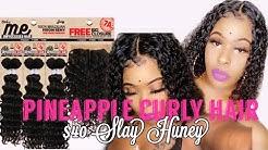 Baddie on a budget SLAY | Zury Sis Multi Pack (Pineapple Curl) | Only $40 Easy wig Method