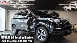 Mahindra Alturas G4 Most Detailed Review with All Features Explained | Alturas G4 Mahindra