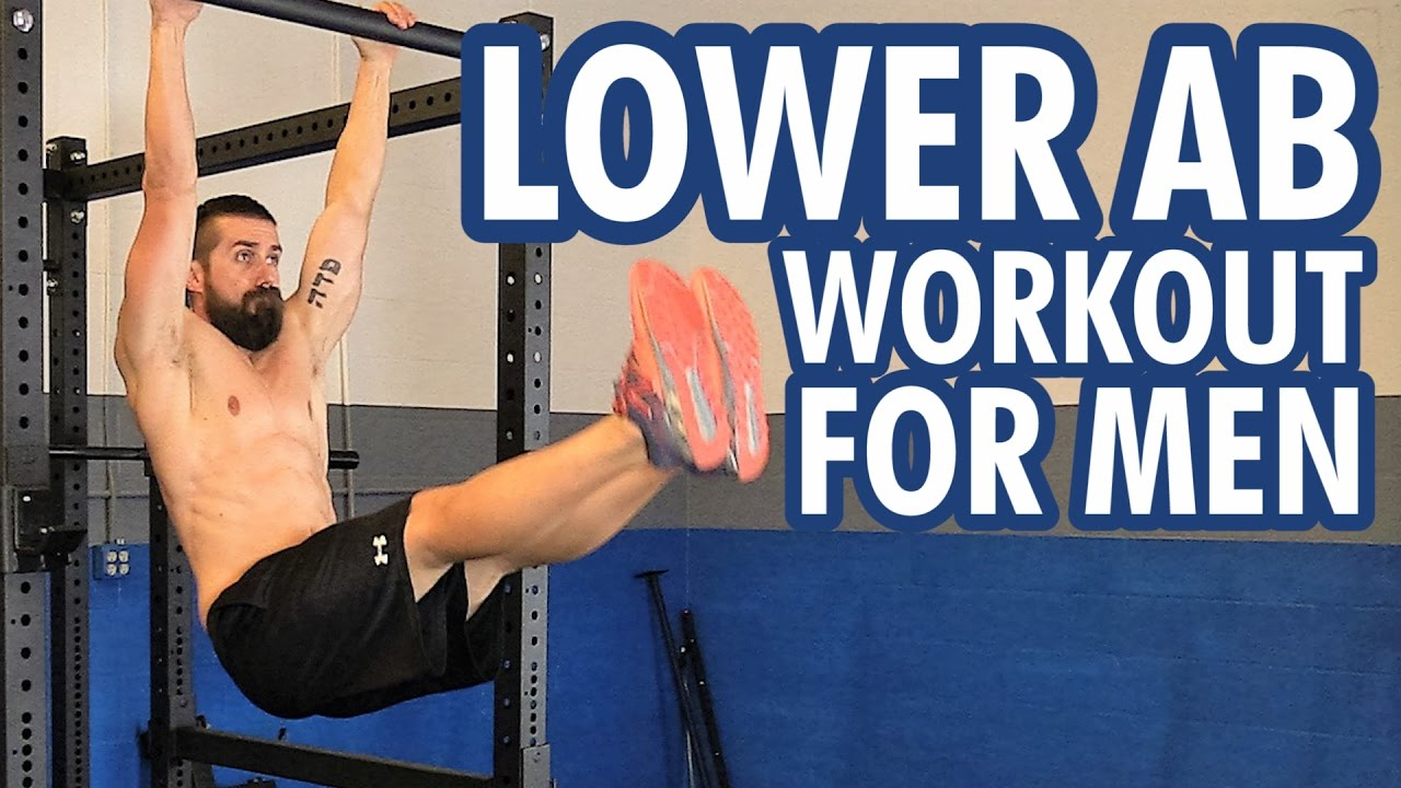Best Lower Ab Workout for Men (4 Exercises) - YouTube