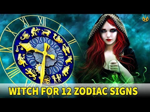 Witch Types for 12 Zodiac Signs, What Witch Are You? - Know Everything