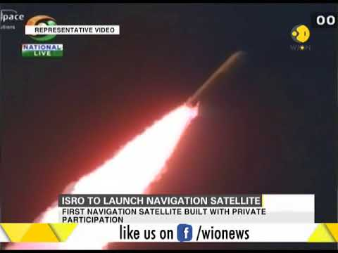 ISRO to launch navigation satellite today from Sriharikota