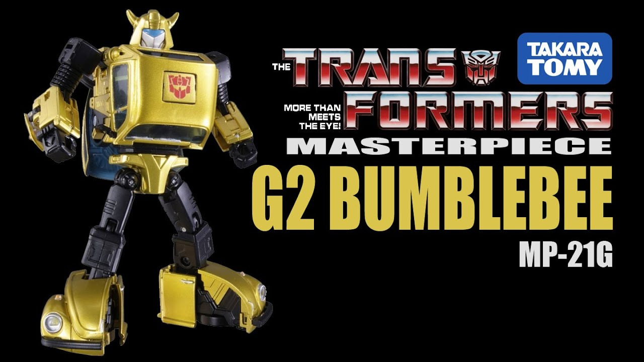 Takara IN-STOCK USA Goldbug Transformers Masterpiece MP-21G G2 Bumblebee