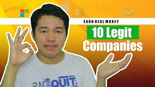 Earn REAL MONEY From this Legit Company