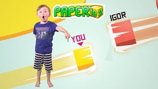 PAPER.IO 2 Most Addicting Game 100% Gameplay