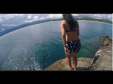 Cliff Jumping in Malawi(Kande Beach)| Cliff Jumping Adventure |Cliff Jumping Gopro Capture